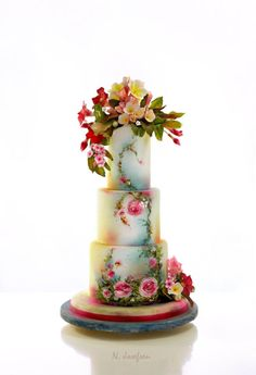 EDITOR'S CHOICE (04/19/2014) Anna's cake by Neli View details here: http://cakesdecor.com/cakes/127029-anna-s-cake