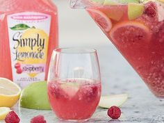 Take some time to enjoy the sunset and sip on our Simply Sunset Sangria. Try this delicious white wine sangria recipe using Simply Lemonade® with Raspberry.