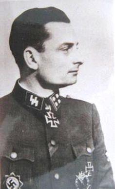 """✠ Manfred Schönfelder (18 March 1912 — 4 March 1983) RK 23.02.1944 SS-Obersturmbannführer Ia 5. SS-Pz.Div """"Wiking"""""""