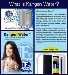 The Benefits of Drinking Ionized Alkaline Water Kangen Water! www.kangenagua.com to learn more about the benefits of Kangen Water 800-958-9609