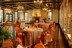 Weddings in Northpoint, Michigan • The Willowbrook Mill found the reception hall hahah