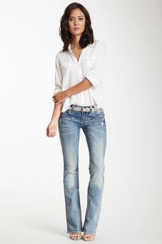 Christina Bootcut Jean <3... Love this look... #COMFYCUTE
