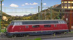 Meine Modelleisenbahn digitalisiert!: Märklin H0 30210 - Diesellok V200 048…