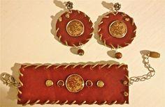 Parure Set Bracciale/Orecchini Handmade In Italy Siam