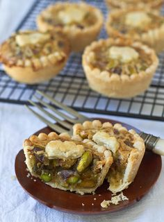 Mini Honey Pistachio Pies | 53 Amazing Pistachio Desserts