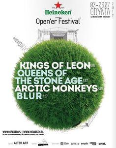 Pierwszy tegoroczny plakat Open'era. Dobra zapowiedź świetnego line-upu.