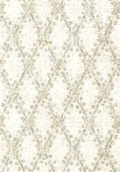 LA GIOCONDA, White and Grey, T743, Collection Artisan from Thibaut