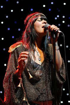 Natasha Khan of band Bat For Lashes