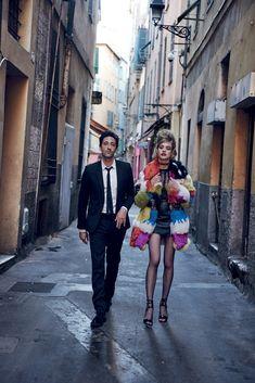 Fashion Editor: Grace Coddington, Michael Philouze Vogue US July 2015 Model: Natalia Vodianova, Adrien Brody Photographer: Peter Lindbergh