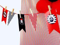 Girlanda na imprezę Piratów :-)