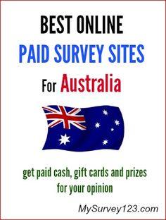 List of Legit Australian Free online Paid Surveys panels that pay cash (Paypal/check) or amazon/store gift cards. Take online surveys for money in Australia