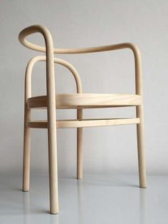 Poul Kjaerholm; #PK15 Ash and Cane Chair, 1970s. Produced by PP Møbler, 1990s.