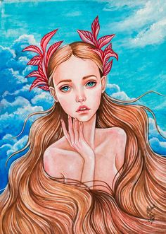 Mermaid by BlackFurya on DeviantArt