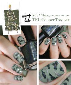 Pantone Color Fashion Report Fall 2014 Cypress Nail art