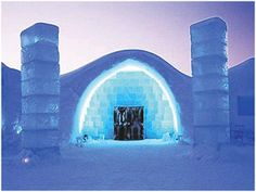 In the little Swedish village of Jukkasjärvi there's a hotel that revolves around one essential ingredient of life, H2O.  When you're situated well north of the Arctic Circle it's more commonly referred to as ice, the medium that various architects and artists mold into a beautiful work-of-art/ tourist destination known as ICEHOTEL.  This winter will be the hotel's twenty-first year as an innovative ever-evolving accommodation that gives its guests an experience they will never forget.  Ther...