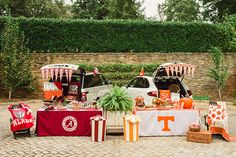 A Southern Tailgate - so many fun ideas!!