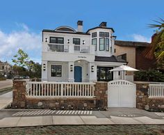 This stunning beach style home was custom designed by Patterson Custom Homes, located in Newport Beach, California.