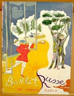 Ballets Russes de Monte Carlo, 1942-43 season. Souvenir Program.