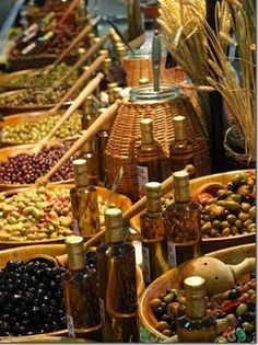 Olives, Antibes Market, Provence.  Repinned by www.mygrowingtraditions.com