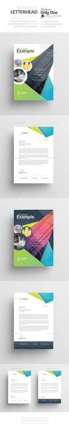 Letterhead Pinterest Letterhead template, Corporate identity and - letterhead example