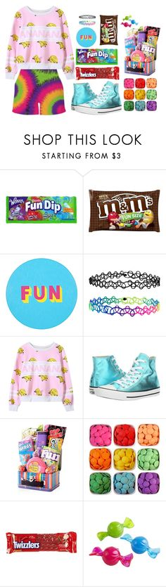 """""""Fun size!"""" by aby-ocampo ❤ liked on Polyvore featuring Lisa Perry, Accessorize, Converse, Dylan's Candy Bar, River Island and Pier 1 Imports"""