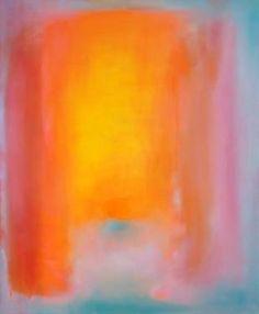 """Vibrant Opal 3,"" original abstract painting by artist  Marta Zamarska (Poland) available at Saatchi Art #SaatchiArt"