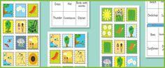 bingokaarten zomer