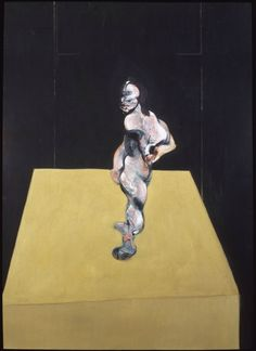 Francis Bacon, Turning Figure, 1962. Oil on canvas, 198 x 144,5 cm. Private Collection © The Estate of Francis Bacon. All rights reserved, DACS 2016.