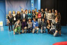 """Este viernes 25 de octubre de 2013, participamos en la merienda literaria de Tamara Carrascosa entorno a su libro """"El Caso Balmaseda""""."""