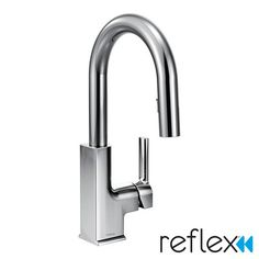 Moen STo Single Handle Deck mounted Kitchen Faucet