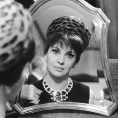 "BVLGARI ""Jewels fit for a femme fatale. Throughout her career, Gina Lollobrigida has embodied the elegance of Italian cinema, and brought a…"" Gina Lollobrigida, Anita Ekberg, Sophia Loren, Elizabeth Taylor, Audrey Hepburn, Gloria Grahame, Gloria Dehaven, Bulgari Jewelry, Diana Dors"