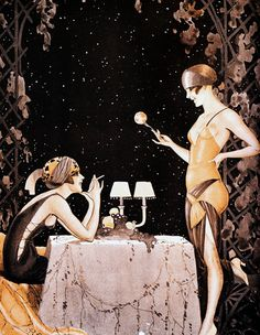 Illustration by Vald'Es for La Vie Parisienne c. 1923
