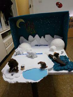 Diorama Proyecto Polo Norte