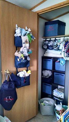 Boy nursery Thirty-One Gifts Navy #Organized # personalized