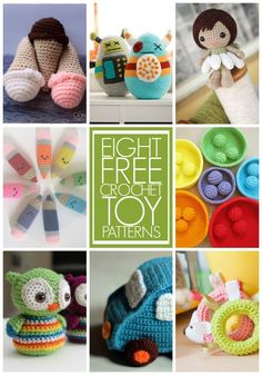 There's something special about making a gift. Here's 8 crochet toys you can create for kids!   Being Spiffy