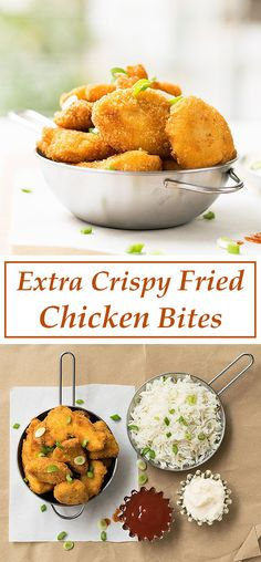 This recipe is a crowd pleaser! Juicy, tender and extra crispy chicken pieces for your everyday diner or your next get-together party!