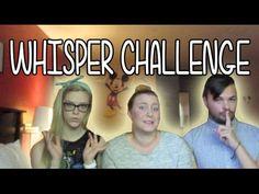 WHISPER CHALLENGE AT VIDCON - YouTube
