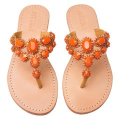 Mystique Sandals features unique hand crafted leather women's sandals that are embellished with jewelry Coral Sandals, Palm Beach Sandals, Mystique Sandals, Fashion Shoes, Fashion Accessories, Rhinestone Shoes, Decorated Shoes, Hot Shoes, Miller Sandal