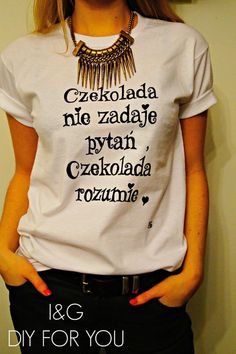 I&G ,,CZEKOLADA ,, RĘCZNIE MALOWANA  w I&G DIY FOR YOU na DaWanda.com