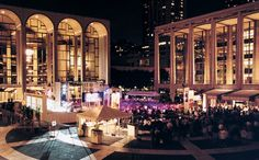 Lincoln Center for the Performing Arts  70 Lincoln Center Plaza (Columbus/63)  Manhattan, NY 10023