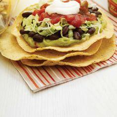 Tostadas végétariennes Vegan Recipes Beginner, Vegan Dinner Recipes, Recipes For Beginners, Healthy Recipes, Tostadas, Tacos, Ricardo Recipe, Saveur, Going Vegan