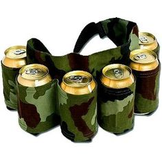 For the manly men, it's a beer belt. For the hipsters it's a beer fanny pack.