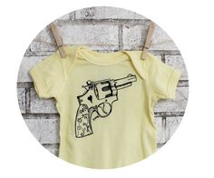 Light Yellow Revolver Baby Onepiece Cotton by CausticThreads, $18.00