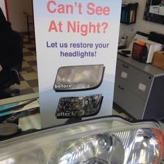 #DidYouKnow at #CrystalGlass we provide headlight restoration?!