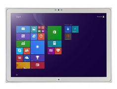 The Toughpad 4K UT-MA6 runs Windows 8.1 Professional out of the box, but customers can opt...