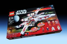 6212 X-Wing Fighter (2006) - 437 pieces, 6 mini-figures.