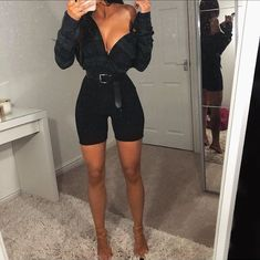 Just a little leopard pop 🐆 Full outfit Discount 💰 use . - Look - Biker Shorts Fresh Outfits, Komplette Outfits, Short Outfits, Trendy Outfits, Fashion Outfits, Womens Fashion, Fashion Trends, Latest Fashion, Fashion Tips