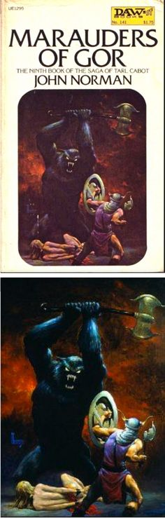 RICHARD HESCOX - Marauders of Gor by John Norman - 1977 DAW Books - cover by isfdb - print by google