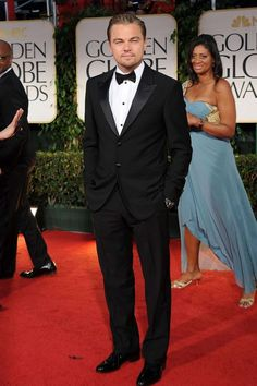 Leonardo DiCaprio  (I've said it before and I'll say it again, NEVER underestimate the power of a well-dressed man)