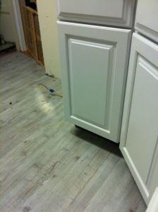 Whitewashed Pine Pergo Floors!!